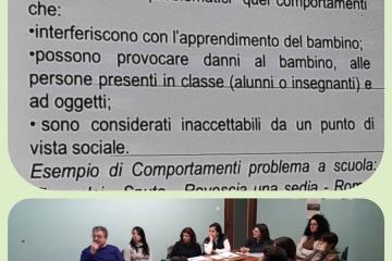 in foto partecipanti al corso attenti alla presentazione su schermo